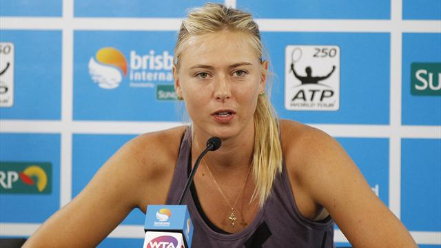 Injured Sharapova out of Brisbane as seeds keep struggling