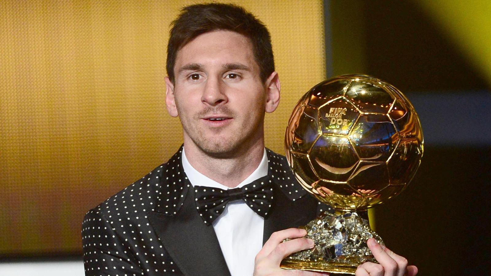 FIFA Ballon d'Or - Lionel Messi
