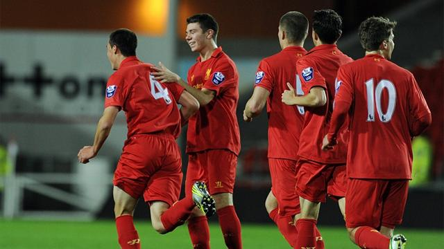 Liverpool thrash Inter to qualify for NextGen last 16
