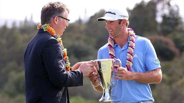 Dustin Johnson vann på Hawaii - Golf