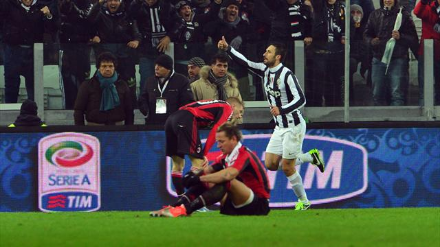 Vucinic gives Juventus extra-time win over Milan