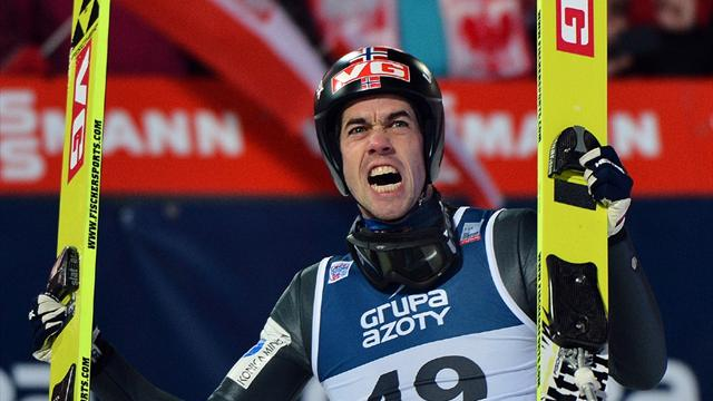 Bardal back to winning ways in Wisla - Ski Jumping