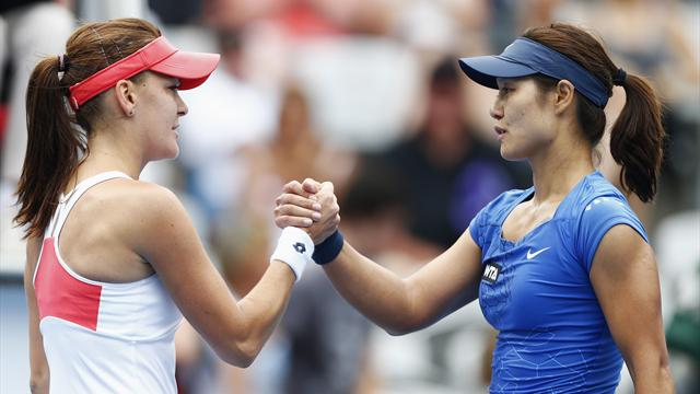 Radwanska to play Cibulkova in Sydney final - Tennis