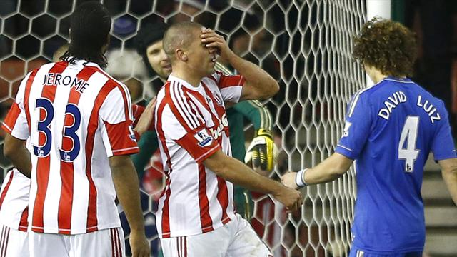 Walters endures nightmare as Chelsea thump Stoke - Football - Premier League