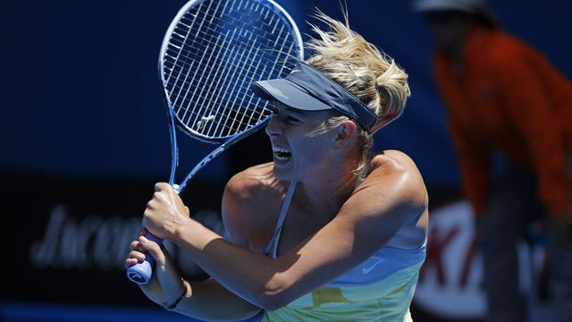 Sharapova through without dropping game - Tennis - Australian Open