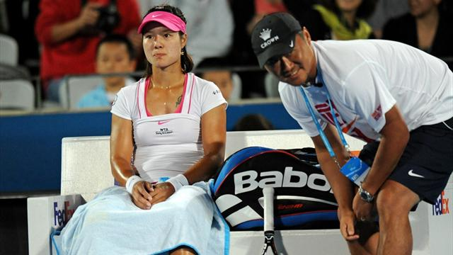 Li's marriage of love and tennis