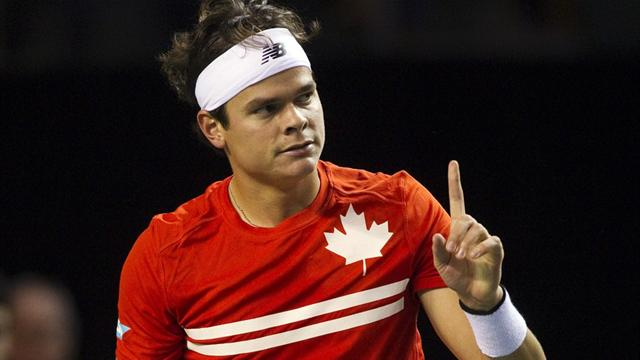 Canada push Spain to brink of shock exit  - Tennis - Davis Cup