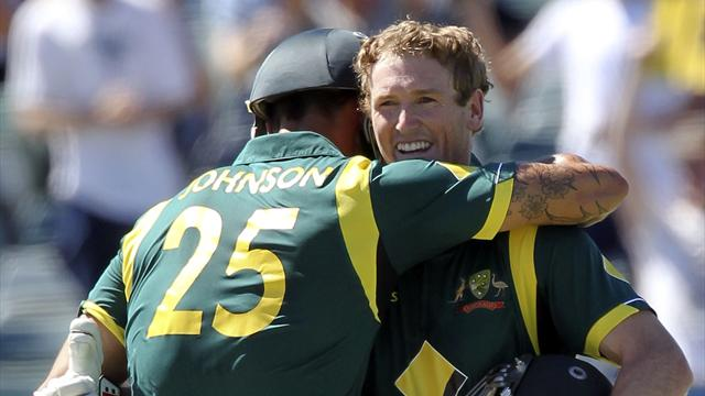 Australia beat West Indies in second ODI - Cricket