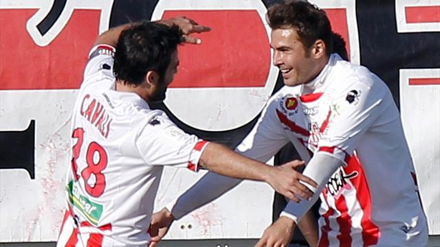 Ajaccio shock Lyon, Montpellier bury Reims - Football - Ligue 1