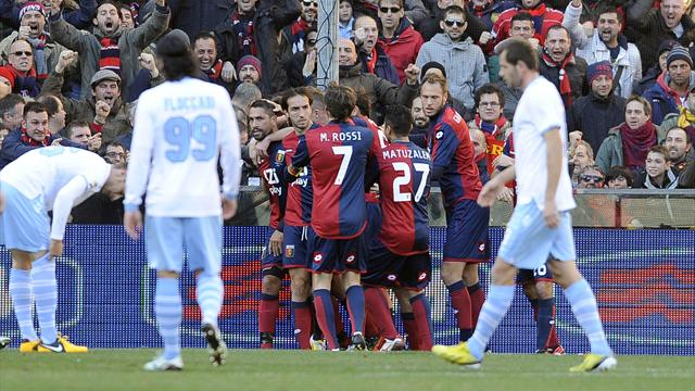 Lazio and Inter fall to shock defeats
