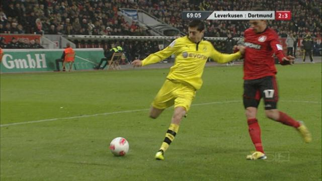 Dortmund survive Leverkusen scare  - Football - German Bundesliga