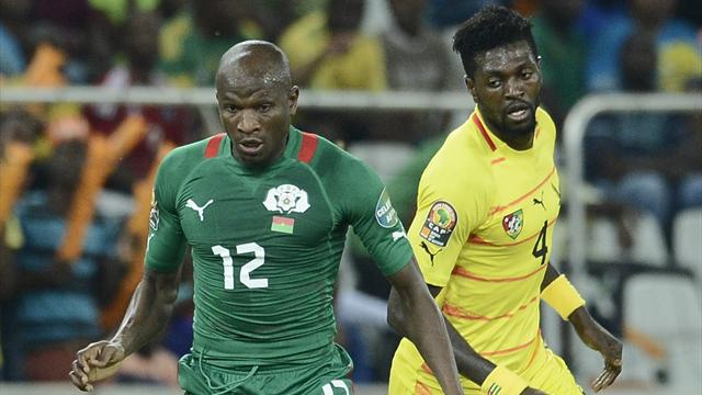 Pitroipa puts Burkina Faso in semis, Togo out