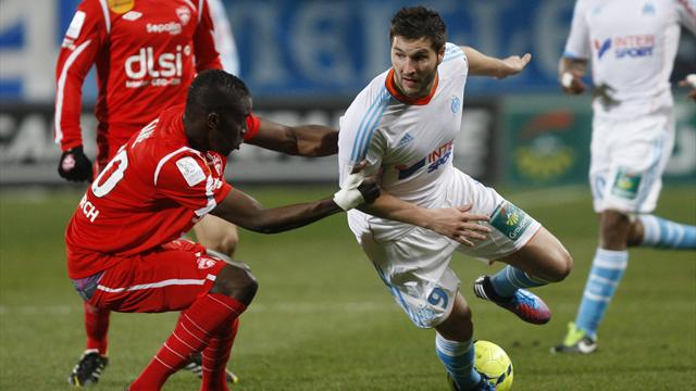 Ligue 2012/2013 OM Nancy Gignac Sané