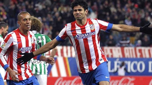 Atletico Madrid too strong for Real Betis - Football - Spanish Liga