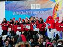 Russian leg of torch relay starts in Vladivostok