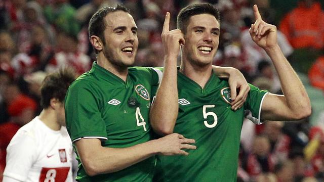 Ireland claim win over Poland