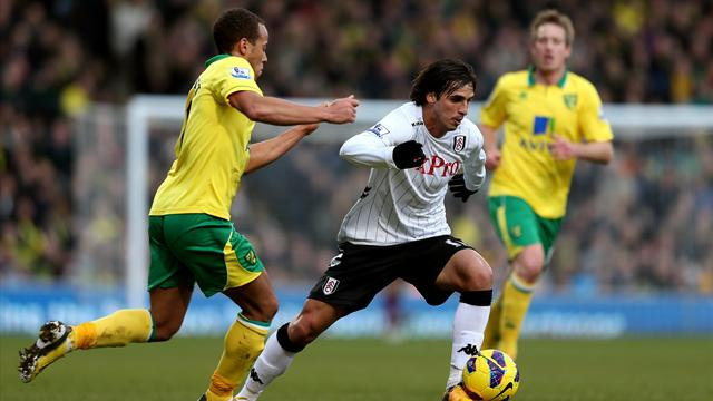 Bore draw for Norwich and Fulham - Football - Premier League