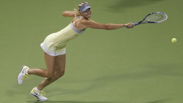 Sharapova extends Doha streak, Robson sent packing - Tennis