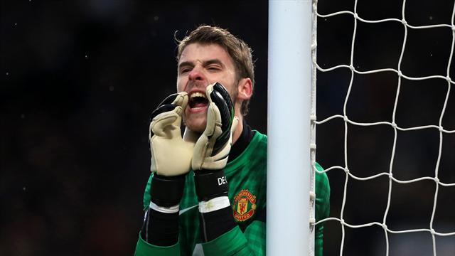 David de Gea made a string of fine saves against Real Madrid at the Bernabeu on Wednesday