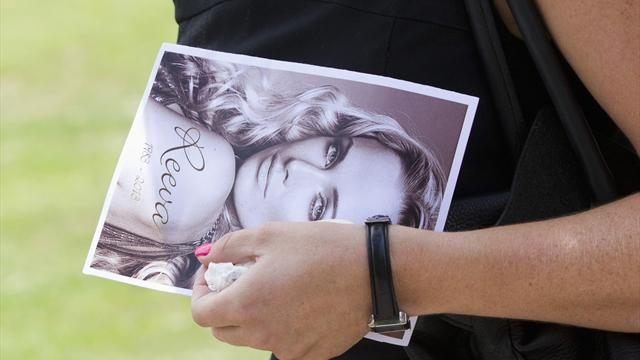 Anger at funeral of slain South African model Steenkamp - Athletics - Pistorius case