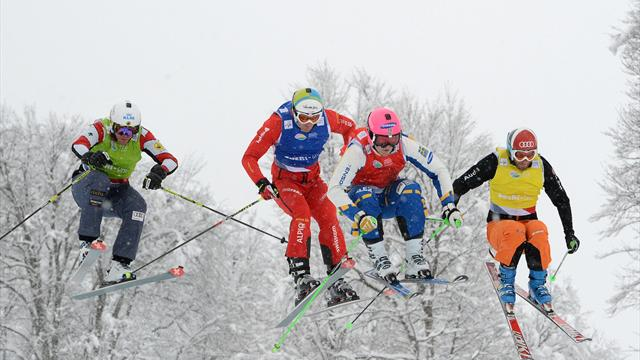 Norberg and Serwa win at ski cross Olympic test event