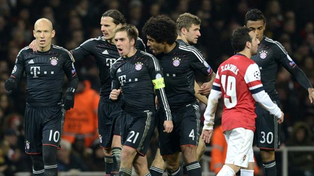 Bayern outclass Arsenal to take control of tie