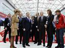 Medvedev meets FISU officials in Krasnoyarsk