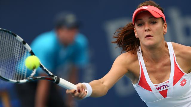 Radwanska upset by qualifier Halep in Rome  - Tennis