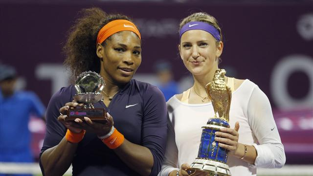 Williams and Azarenka punished over Dubai withdrawals