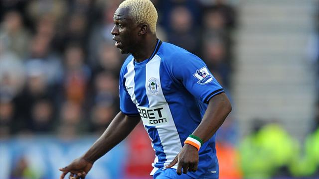 Kone double lifts Wigan out of bottom three - Football - Premier League