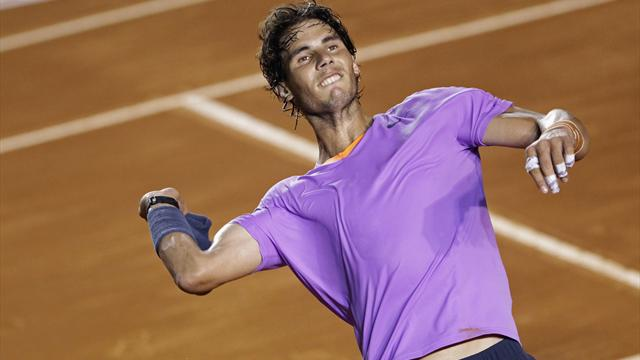 Nadal slogs through to Acapulco final