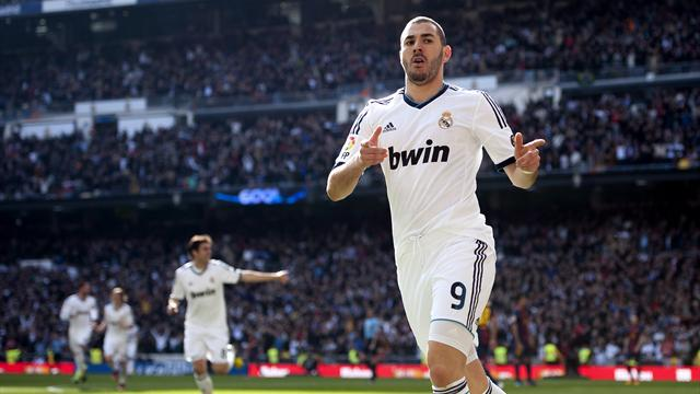FOOTBALL - 2012/2013 - Real Madrid-Barcelone - Benzema