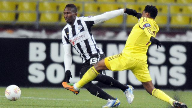 Newcastle boost hopes with draw at Anzhi - Football - Europa League