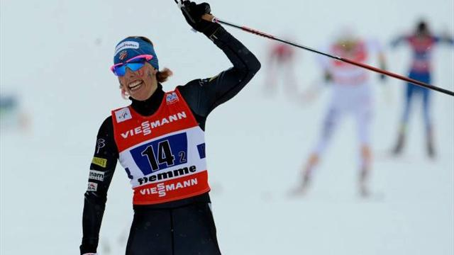 Randall and Joensson win sprint World Cup titles in Lahti - Cross-Country Skiing