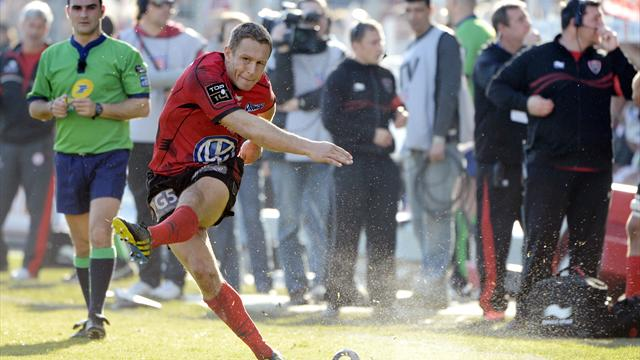Wilkinson a marqué 45% des points de Toulon - Rugby - Top 14
