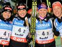 Dahlmeier leads Germany to dramatic Sochi relay victory