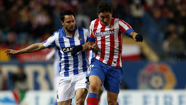 Prieto strikes as Sociedad stun Atletico - Football - Liga