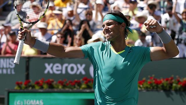 Nadal beats Berdych to reach Indian Wells final