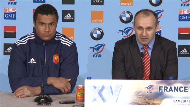 "Saint-André: ""On va sourire un petit peu"" - Rugby - 6 Nations"