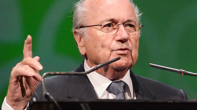 Blatter glosses over protests, says FIFA 'stronger'