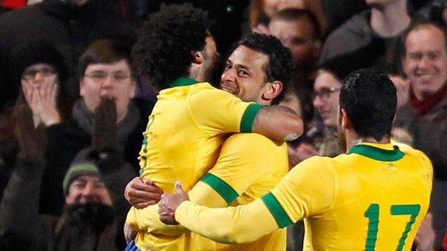 Fred equaliser denies Russia win against Brazil