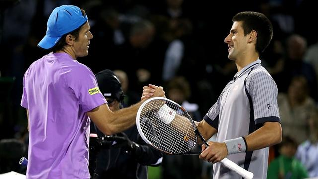 Haas stuns Djokovic, Murray through - Tennis