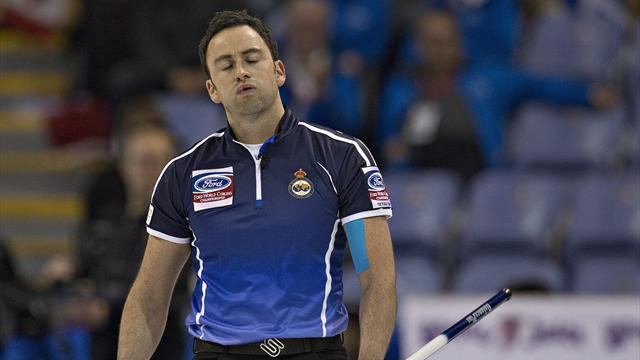 Murdoch defeated by defending champions Canada - Curling