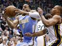 Nuggets ease past Jazz