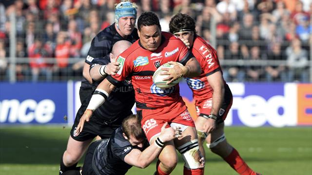 Toulon arrache sa demie - Rugby - Coupe d'Europe