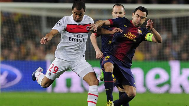 Xavi smashes passing record in PSG game