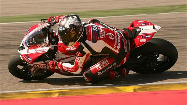 Aragon WSBK: Checa looking for more corner exit speed