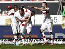 Stuttgart steady nerves with win over Gladbach