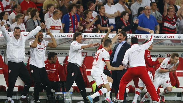 Stuttgart set up German Cup final with Bayern - Football - DFB Pokal