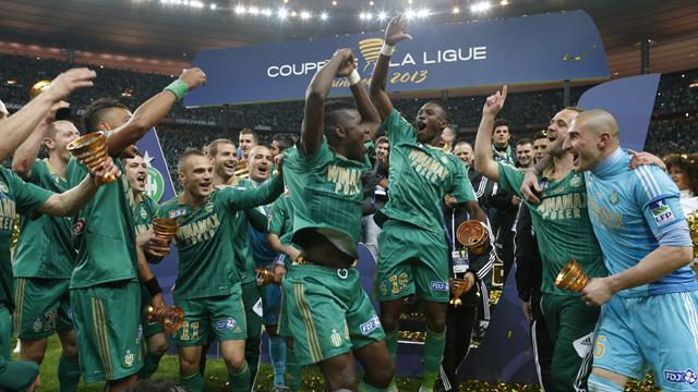 St Etienne beat Stade Rennes to win French League Cup